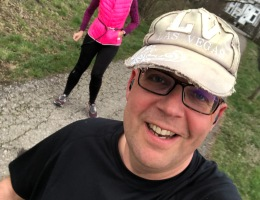 Katja und Matthias am Laufen
